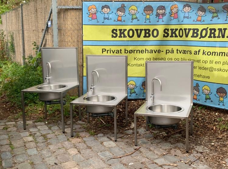 Weldtech basis hygiejnestation